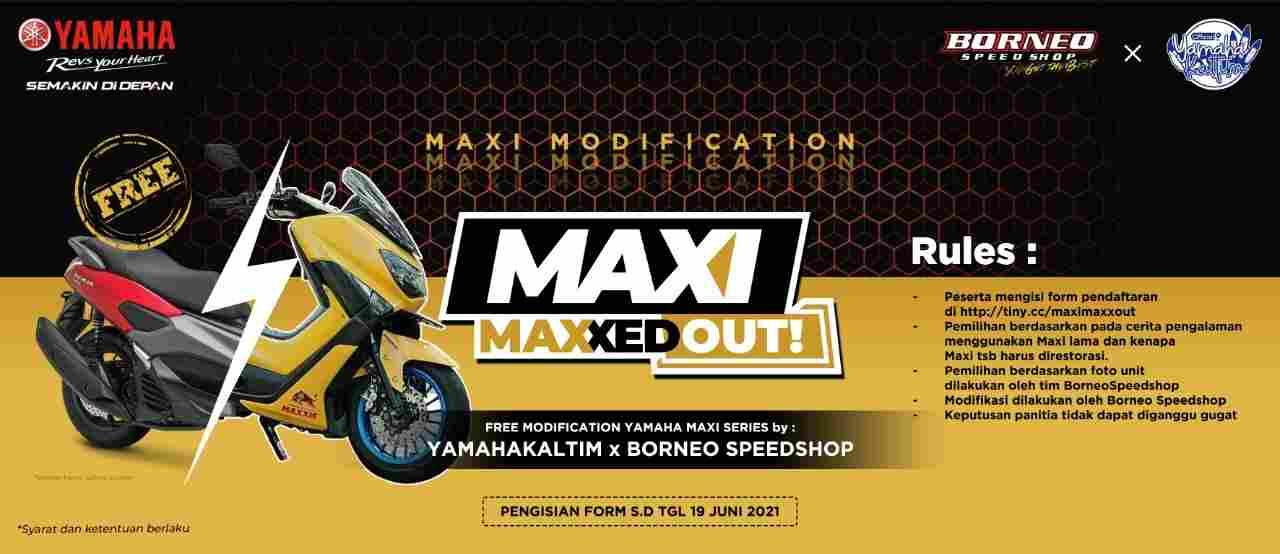 Maxi Maxxed Out! Project Restorasi Agar Yamaha Maxi Series Kembali Nyaman