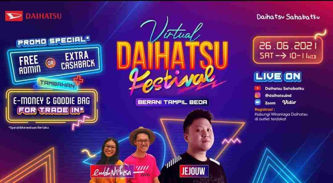 Catat! 26 Juni, Daihatsu Siap Tebar Promo di Virtual Festival
