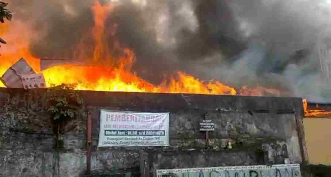Kebakaran di SMA 1 Balikpapan, Dua Ruangan Ludes Terbakar