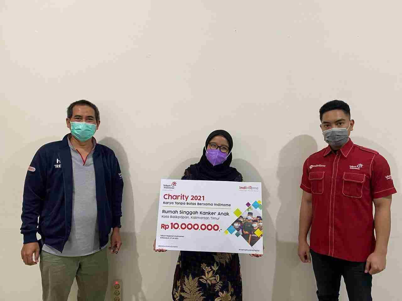 Telkom Indonesia Salurkan Dana Bantuan Rp 420 Juta