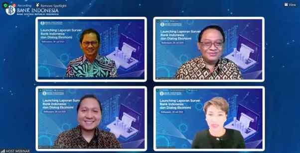 BI Balikpapan Launching Laporan Survei dan Dialog Ekonomi