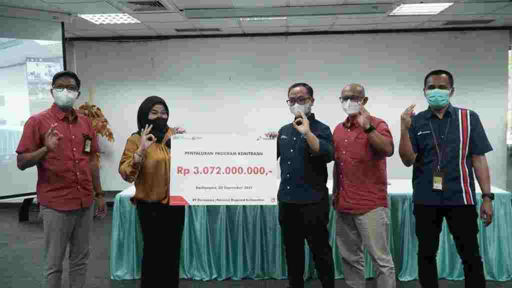 Sinergi Lini Bisnis, Pertamina Salurkan Rp 3 Miliar Modal Usaha Bagi Pelaku UMKM se-Kalimantan