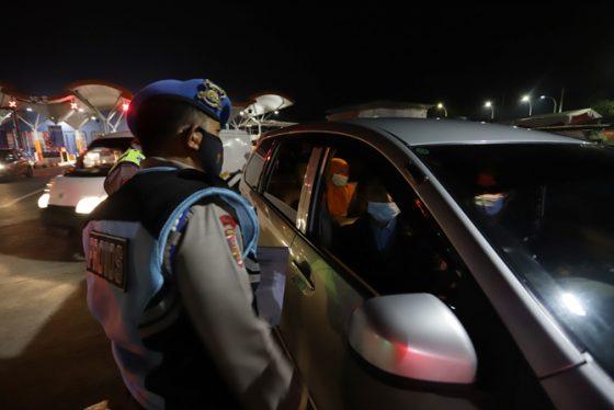Di Kalteng, Sudah 2.116 Kendaraan Dipaksa Putar Balik