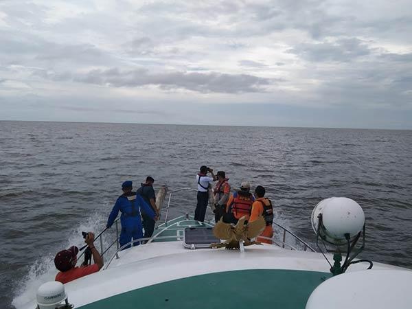 Hari Ketiga Pencarian Kapal Nelayan Karam Masih Nihil