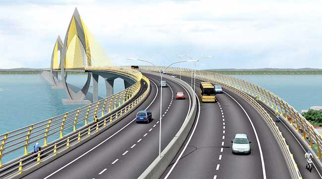 Tinggi Jembatan Tol Balikpapan-PPU Disepakati 65 Meter