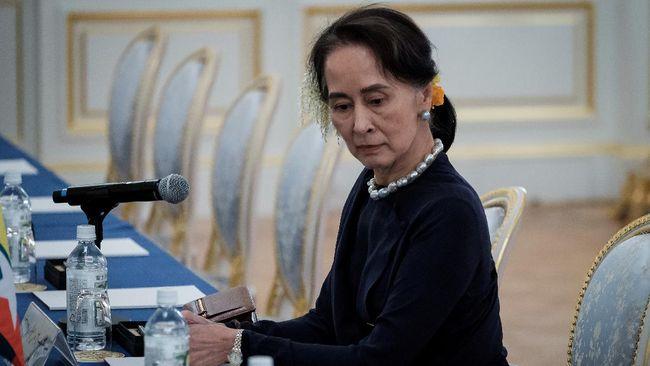 Suu Kyi Dilarang Dapat Bantuan Uang