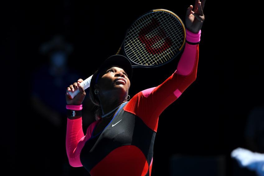 Terpeleset, Serena Pulang Lebih Cepat