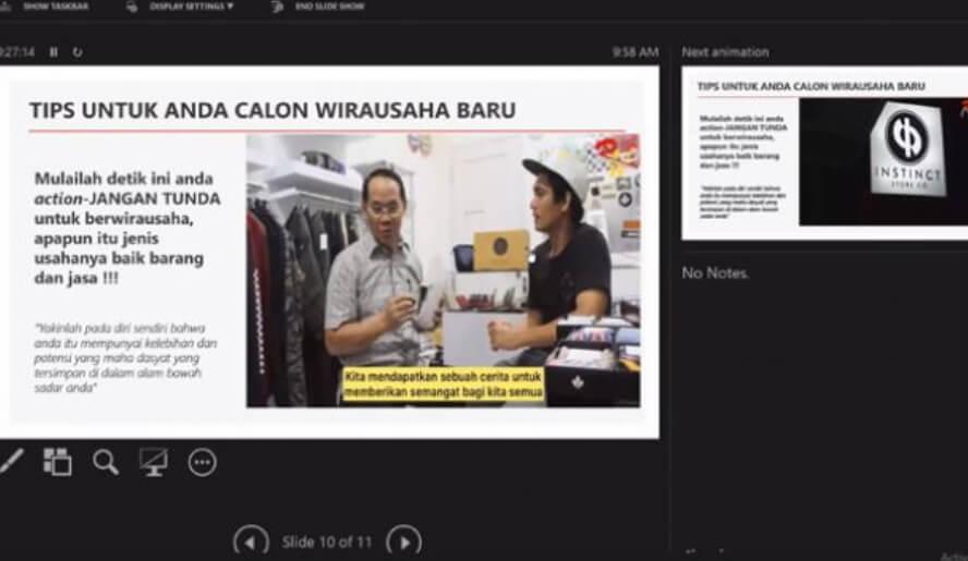 Jadi Narsum Virtual Training UMKM Digelar LP2M Unmul, Wawali Rusmadi: Mulailah Action Jangan Tunda untuk Wirausaha
