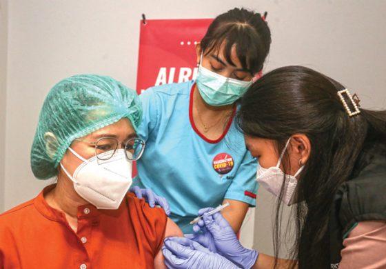 Vaksin Merah Putih Diproduksi Pertengahan 2022