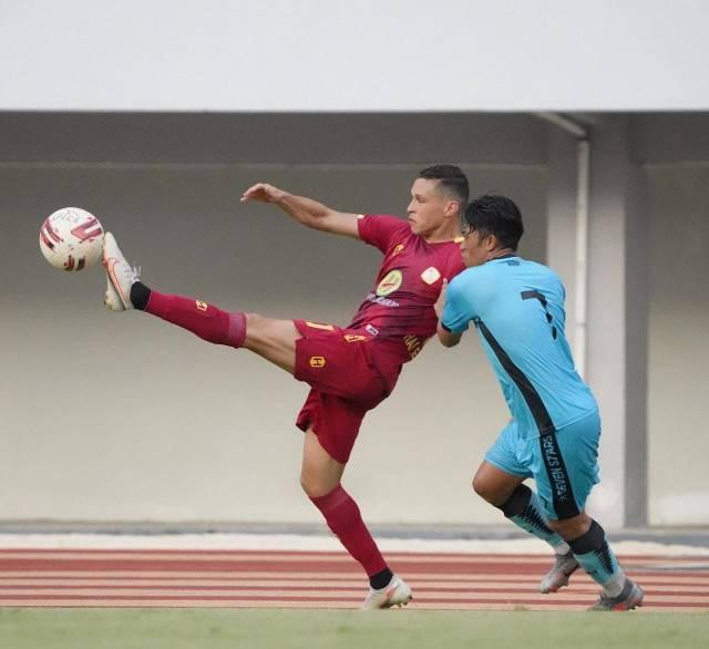 Barito Ditaklukkan Tim Liga 2