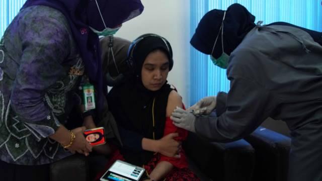 Wali Kota Pantau Vaksinasi Para Disabilitas dan Lansia